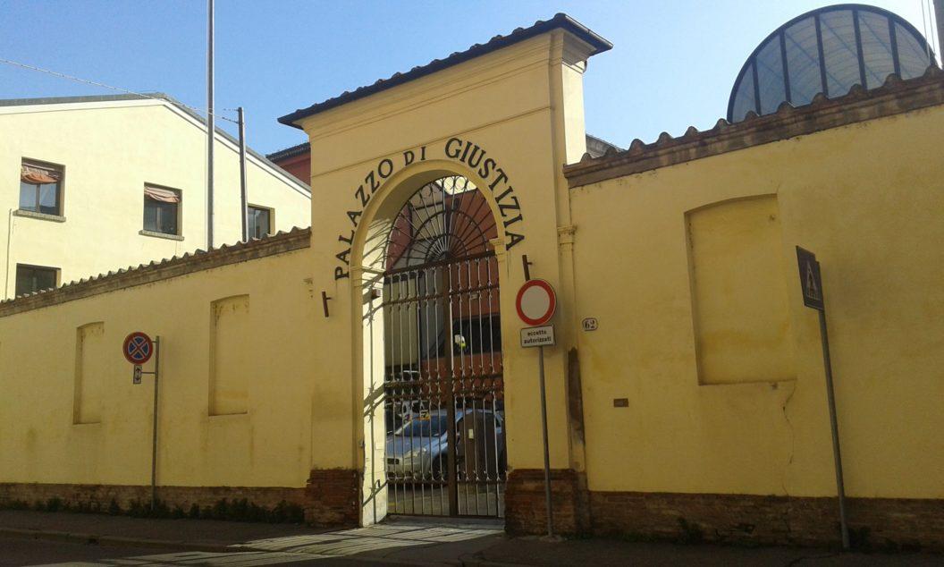 Il Palazzo di Giustizia di Ferrara