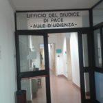 Aule d'Udienza dell'Ufficio del Giudice di Pace di Ferrara all'interno del Palazzo di Giustizia
