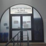 La cancelleria dell'Ufficio del Giudice di Pace di Ferrara all'interno del Palazzo di Giustizia